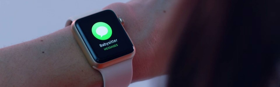 Apple Watch reklámok