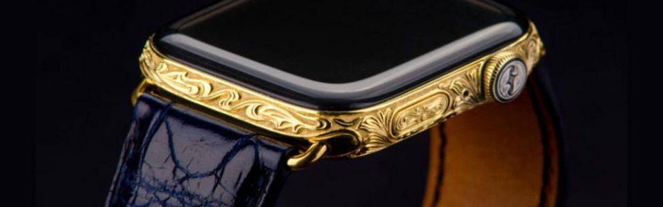 Aranyozott Apple Watch Series 4 (videó)