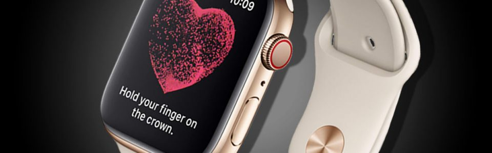 Magyarországon is elérhető lesz az Apple Watch Series 4 EKG funkciója