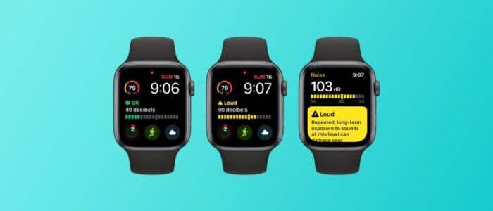 Az Apple Watch gondoskodik füleid védelméről